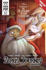The Nightmare Before Christmas: Zero's Journey #12 (2019)