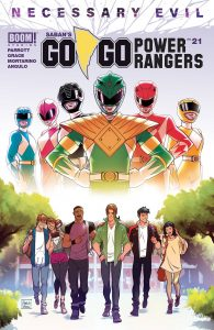 Go Go Power Rangers #21 (2019)