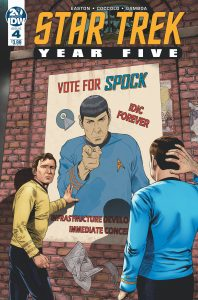 Star Trek: Year Five #4 (2019)