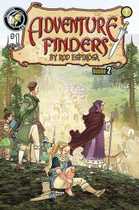 Adventure Finders: The Edge Of Empire #1 (2019)