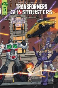 Transformers / Ghostbusters #3 (2019)