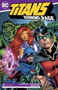 Titans: Burning Rage #1 (2019)
