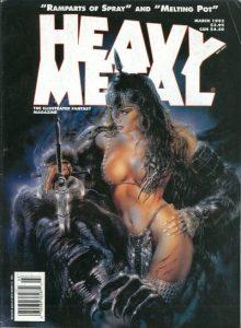 Heavy Metal Magazine #143 (1993)