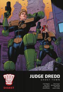 2000 Ad Digest -Judge Dredd: Ghost Town