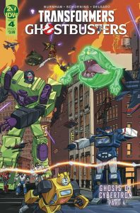 Transformers / Ghostbusters #4 (2019)