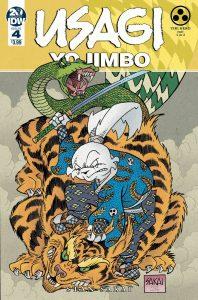 Usagi Yojimbo #4 (2019)