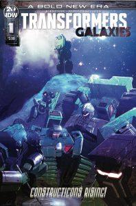 Transformers: Galaxies #1 (2019)