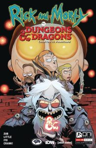 Rick and Morty vs Dungeons & Dragons II: Painscape #1 (2019)