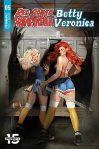 Red Sonja & Vampirella Meet Betty & Veronica #5 (2019)