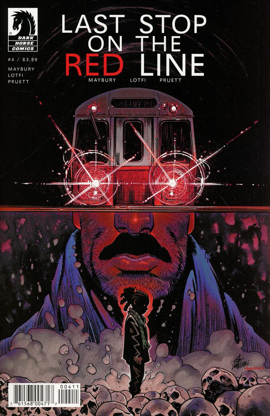 Last Stop On The Red Line #4 (2019)