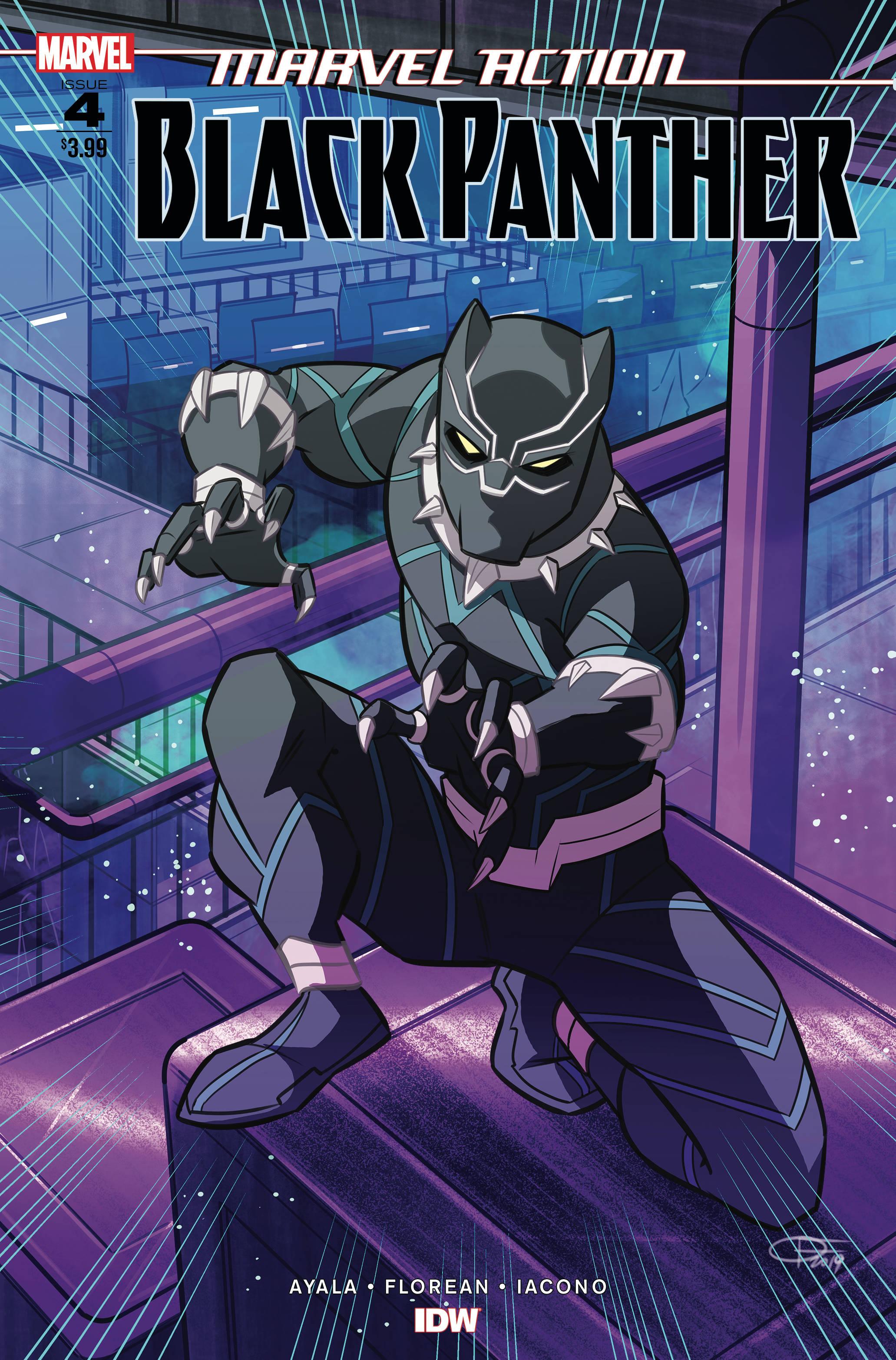 Marvel Action: Black Panther #4 (2019)