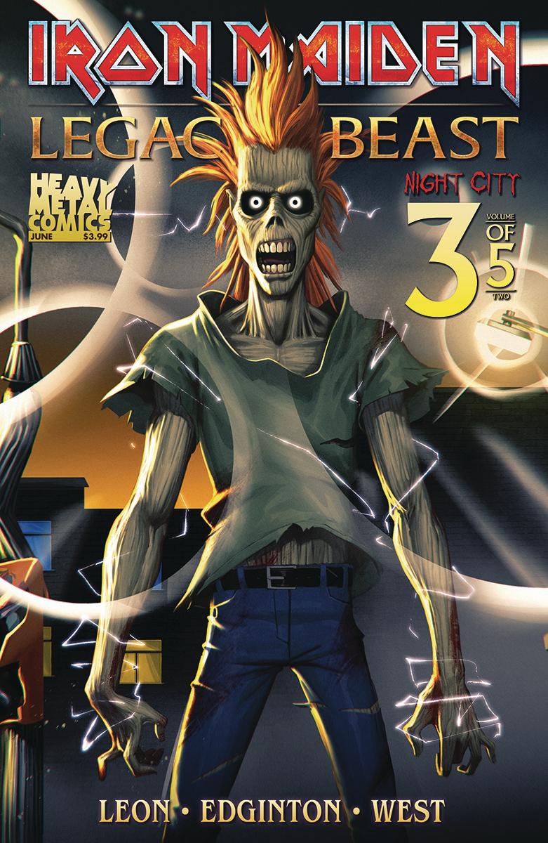 Iron Maiden: Legacy of the Beast Vol 2 - Night City #3 (2019)