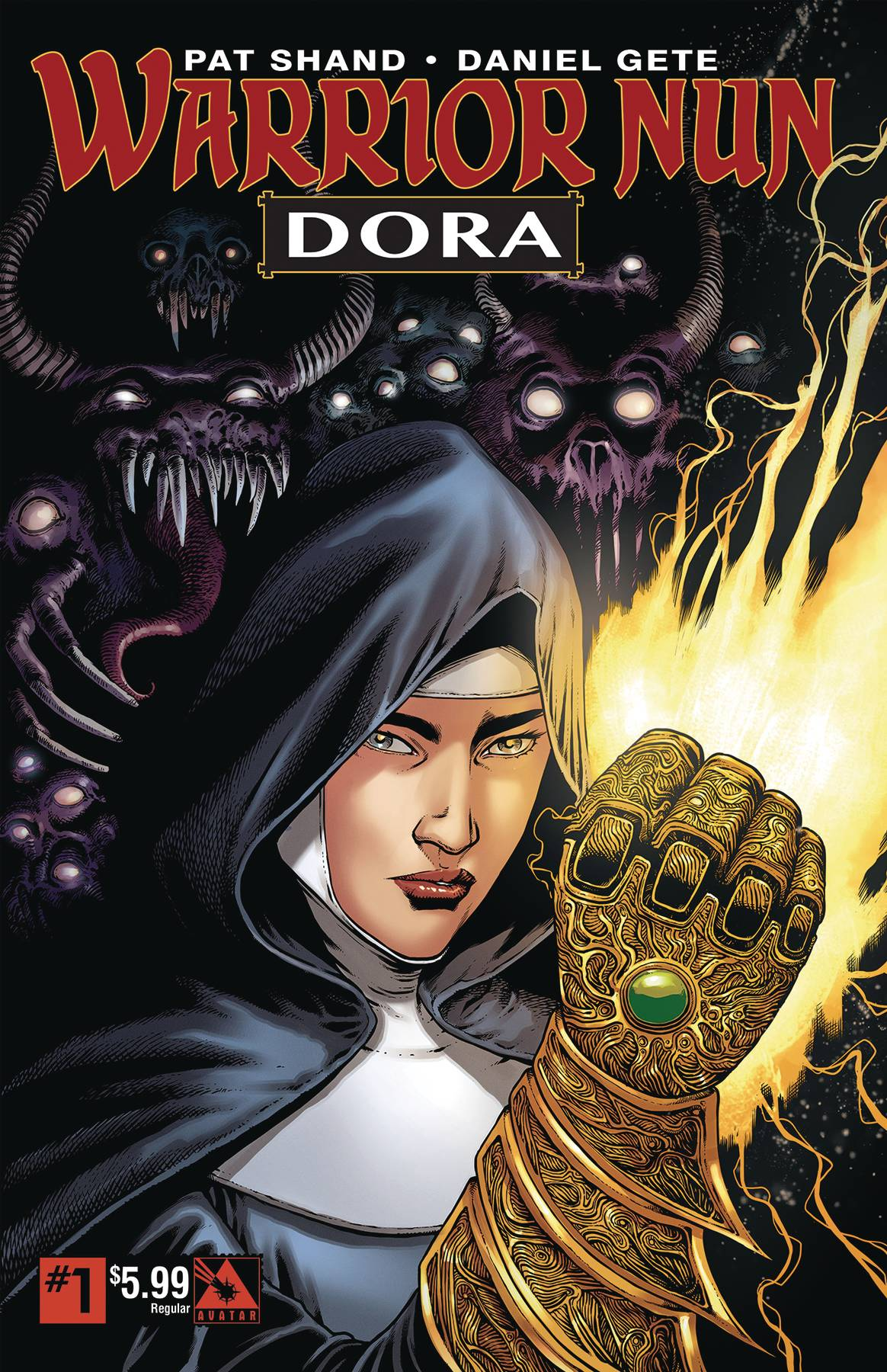 Warrior Nun: Dora #1 (2019)