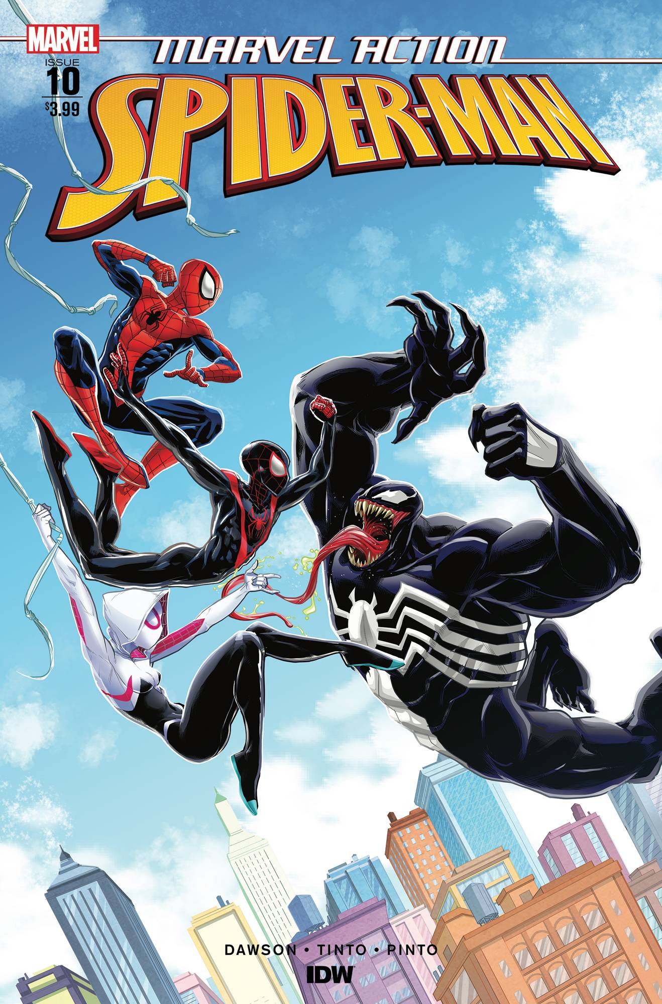 Marvel Action Spider-Man (IDW) #10 (2019)