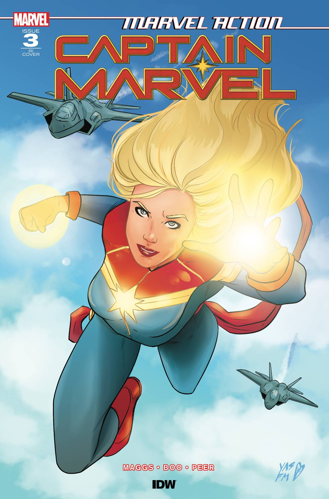 Marvel Action: Captain Marvel #3 (2019)