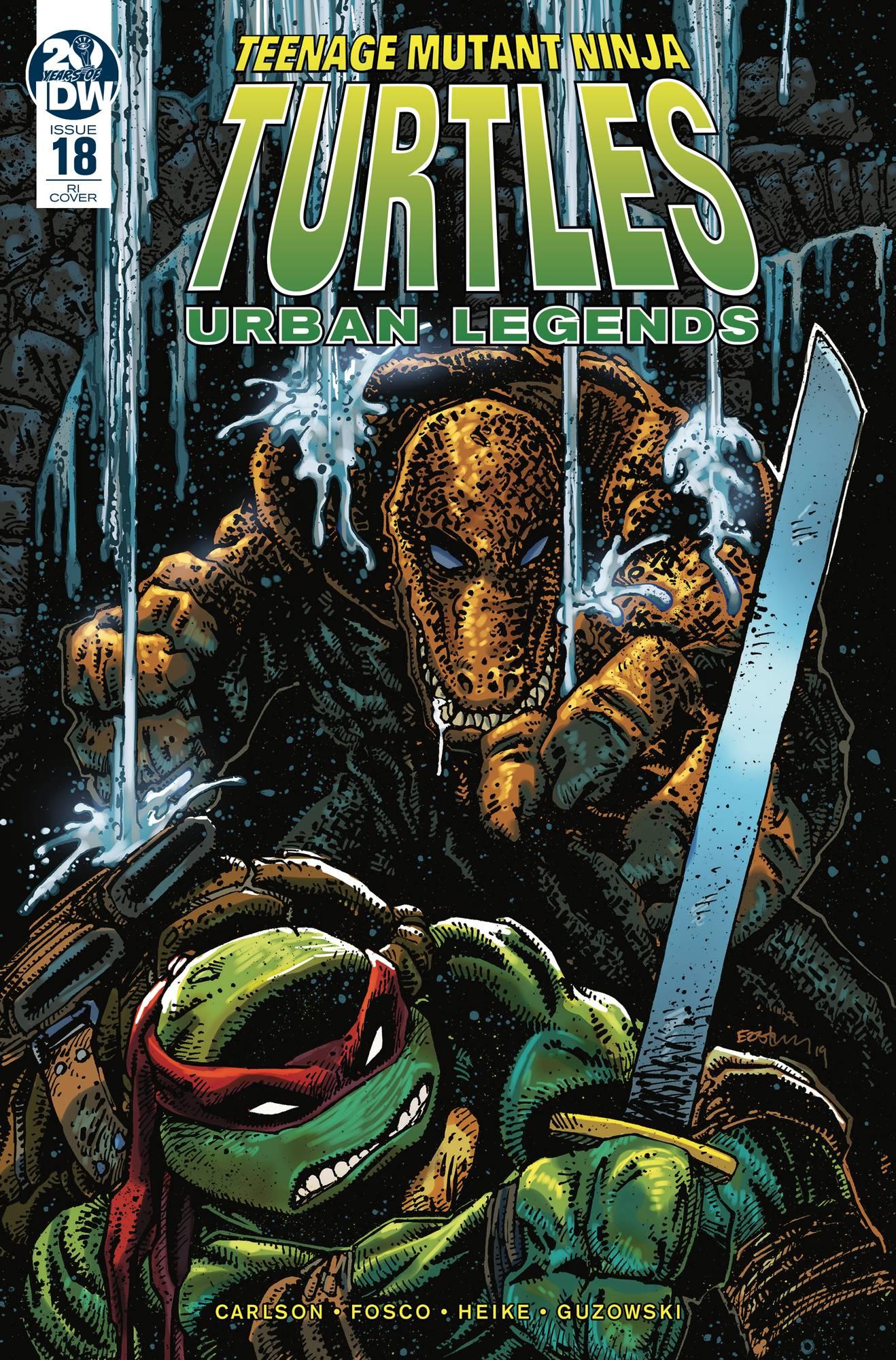 Teenage Mutant Ninja Turtles: Urban Legends #18 (2019)