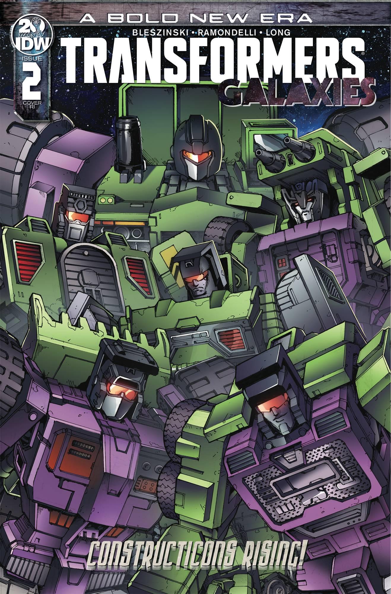 Transformers: Galaxies #2 (2019)