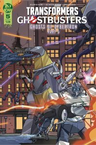 Transformers / Ghostbusters #5 (2019)
