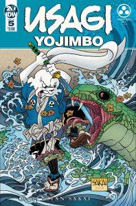 Usagi Yojimbo #5 (2019)
