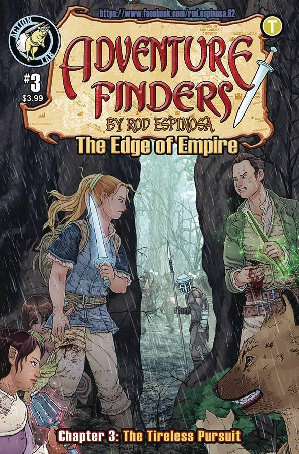 Adventure Finders: The Edge Of Empire #3 (2019)