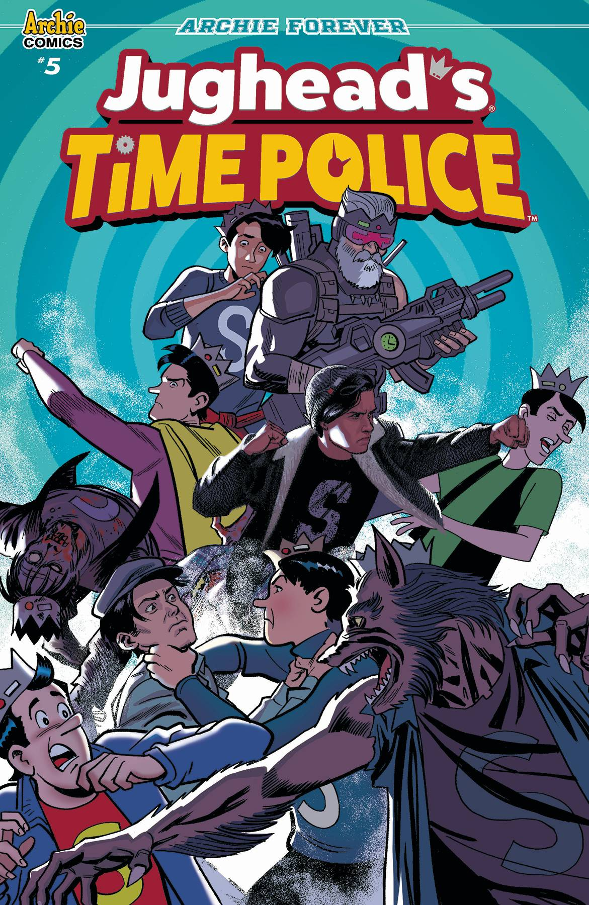 Jughead's Time Police #5 (2019)