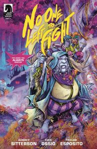 No One Left To Fight #4 (2019)