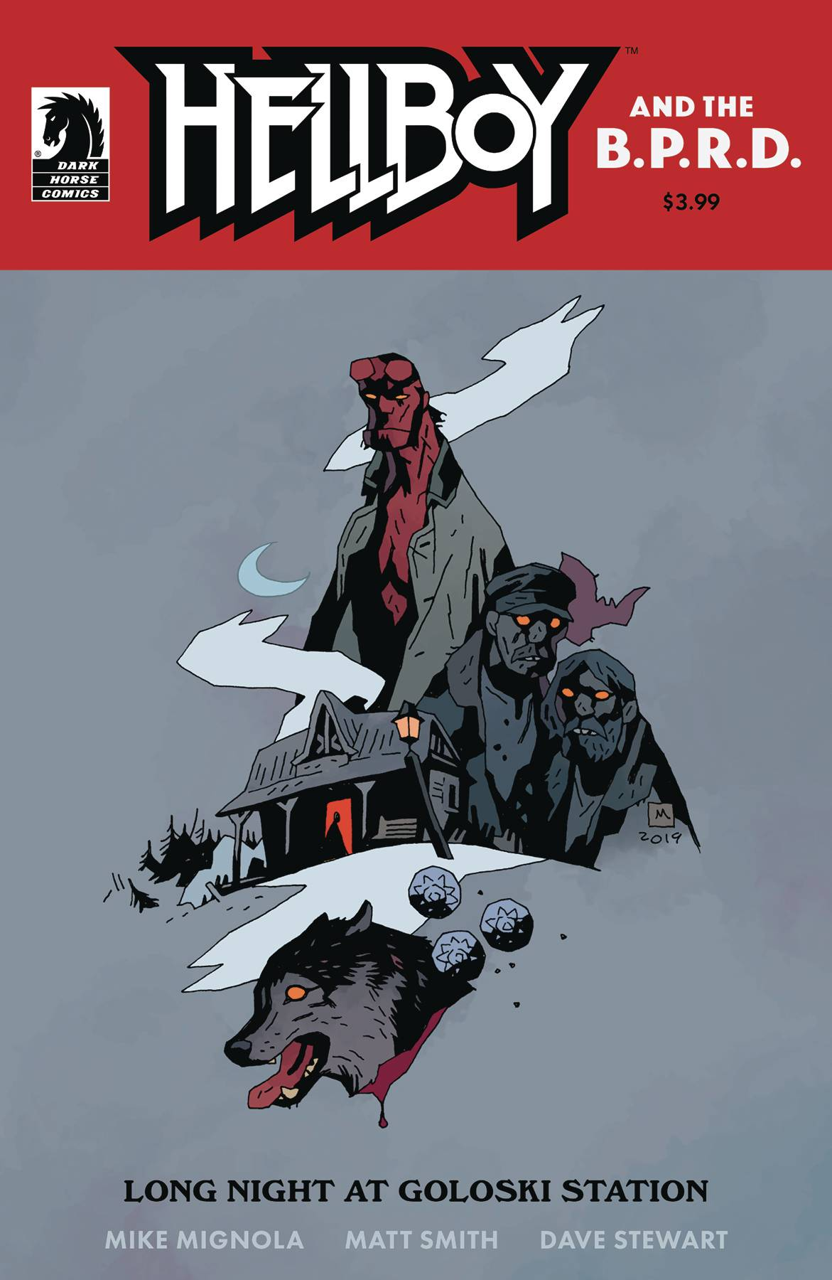 Hellboy and the BPRD: Long Night At Goloski Station