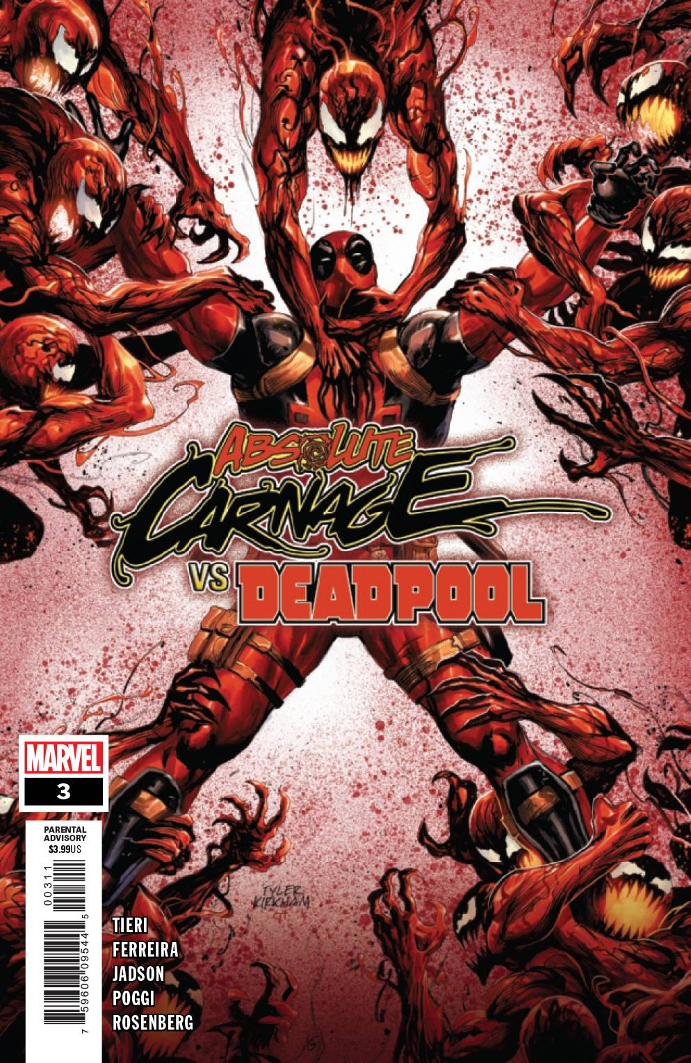 Absolute Carnage Vs Deadpool #3 (2019)