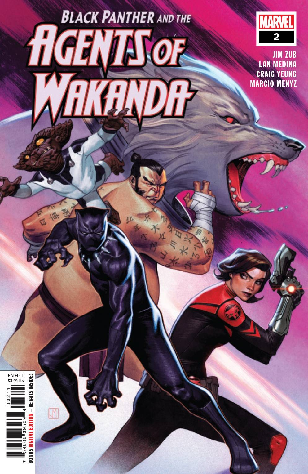 Black Panther and the Agents of Wakanda #2 (2019)