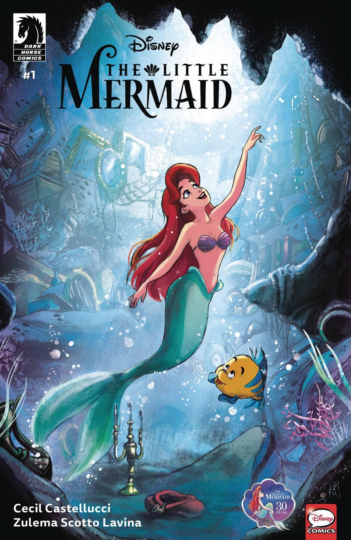 Disney The Little Mermaid #1 (2019)