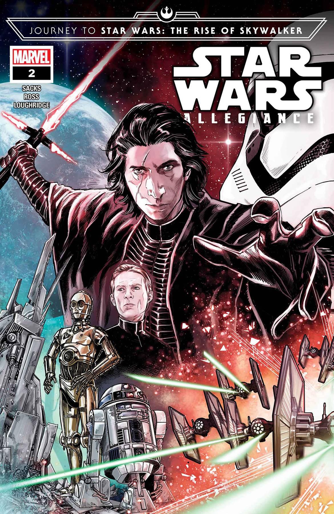 Journey Star Wars: The Rise Skywalker - Allegiance #2 (2019)