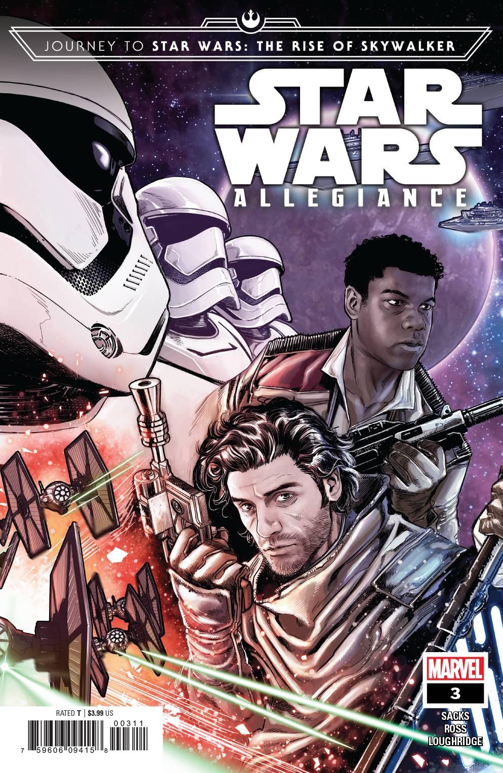Journey Star Wars: The Rise Skywalker - Allegiance #3 (2019)