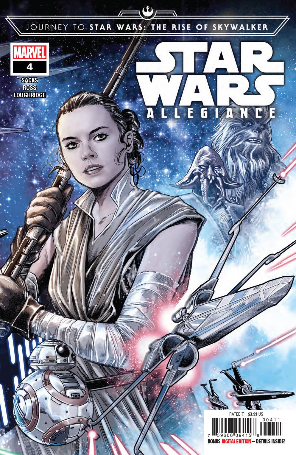 Journey Star Wars: The Rise Skywalker - Allegiance #4 (2019)