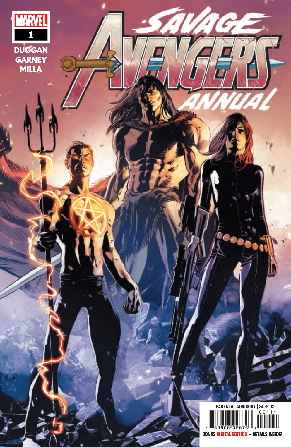 Savage Avengers Annual #1 (2019)