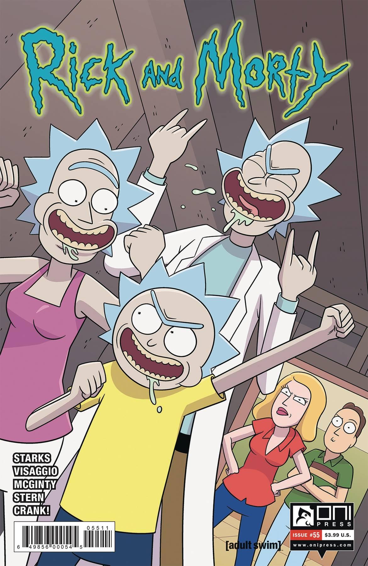 Rick and Morty #55 (2019)