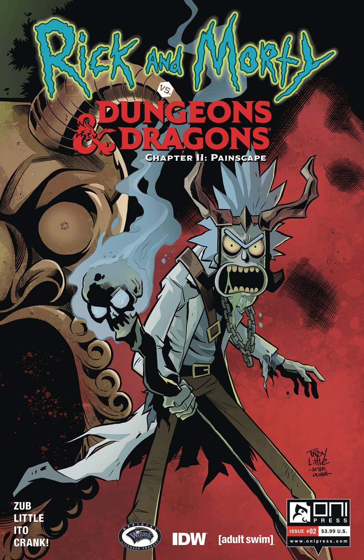 Rick and Morty vs Dungeons & Dragons II: Painscape #2 (2019)