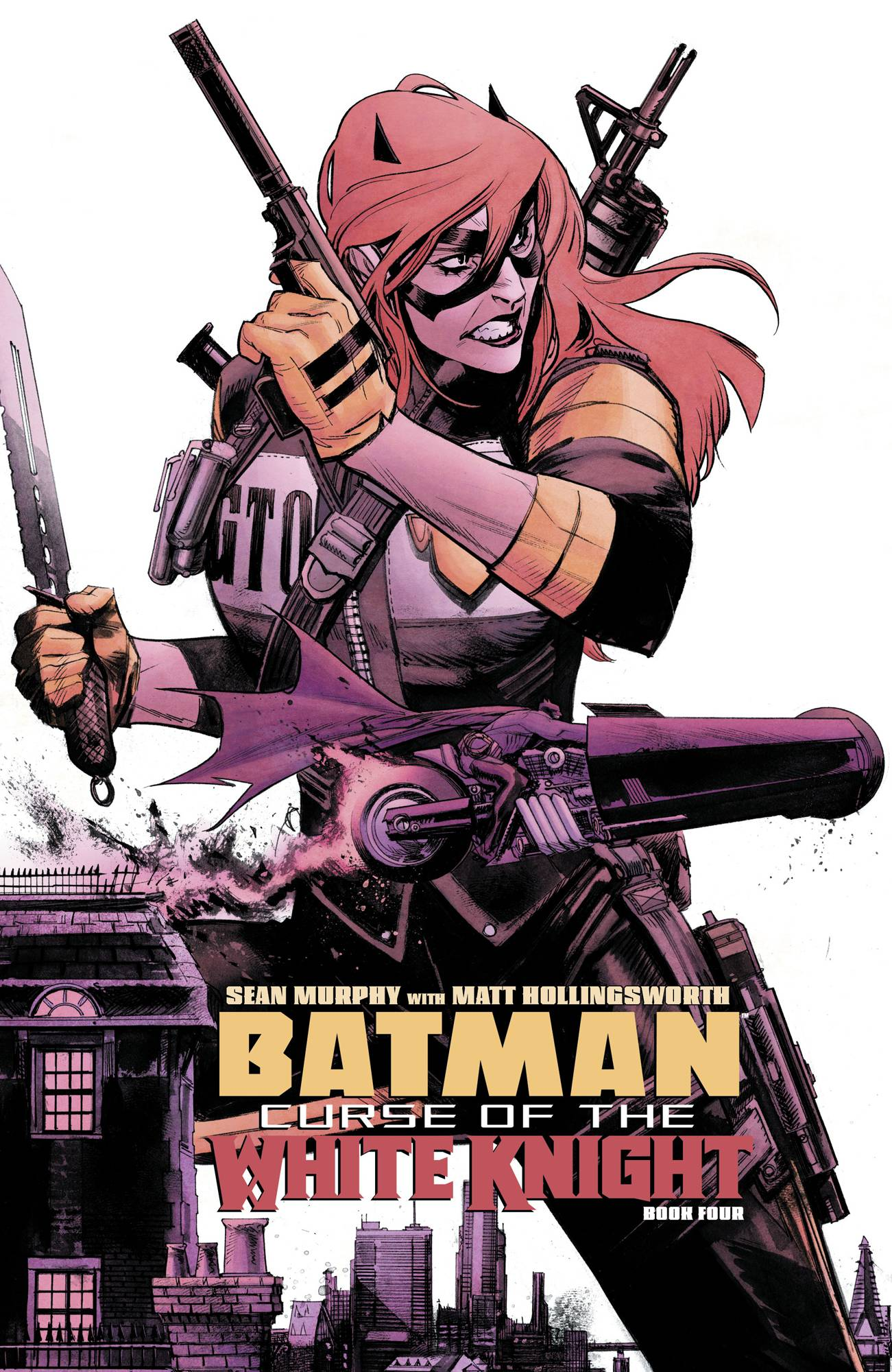 Batman: Curse Of The White Knight #4 (2019)