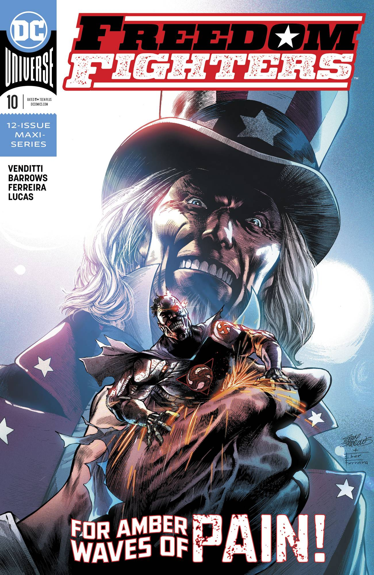 Freedom Fighters #10 (2019)