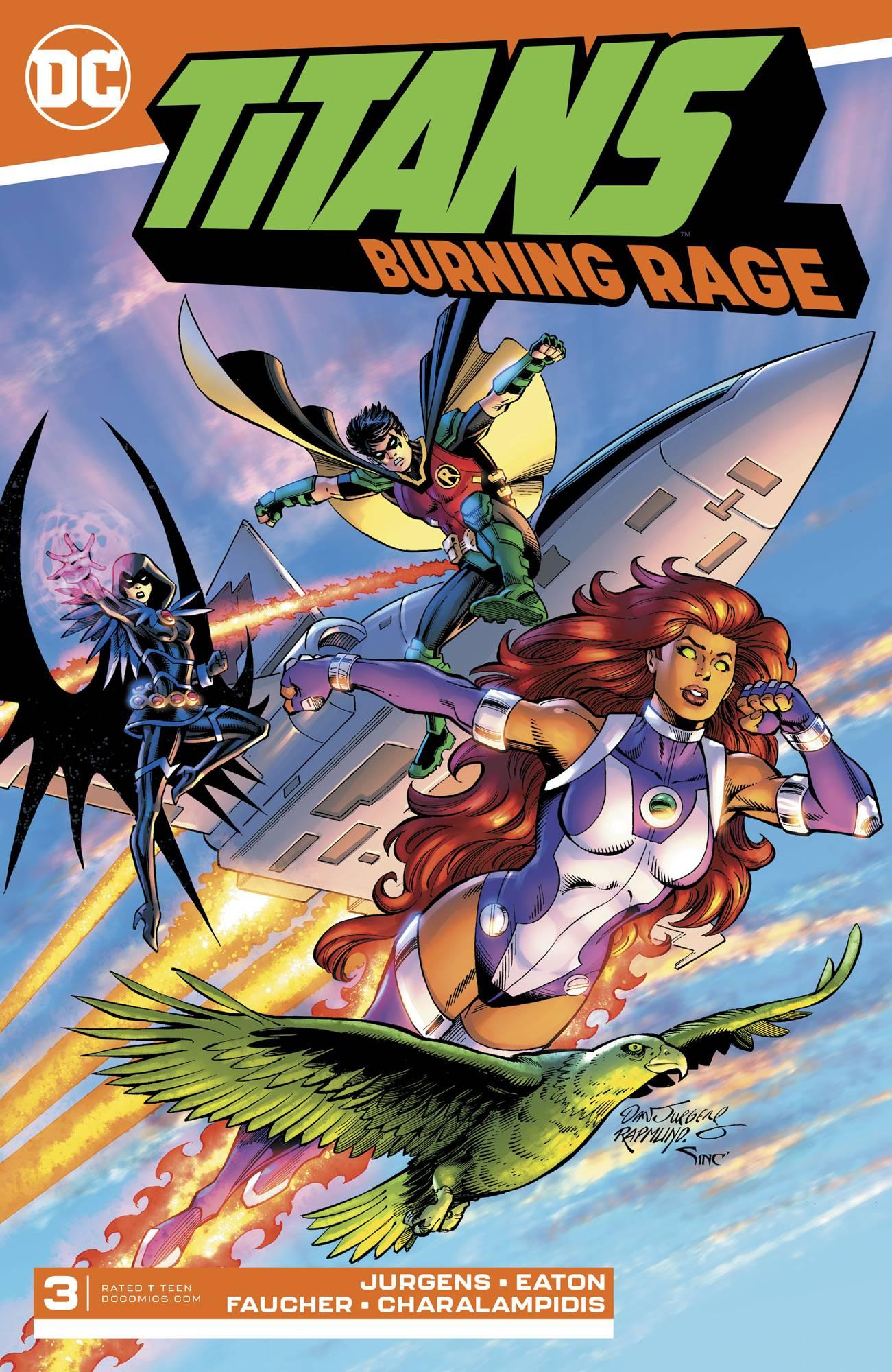Titans: Burning Rage #3 (2019)