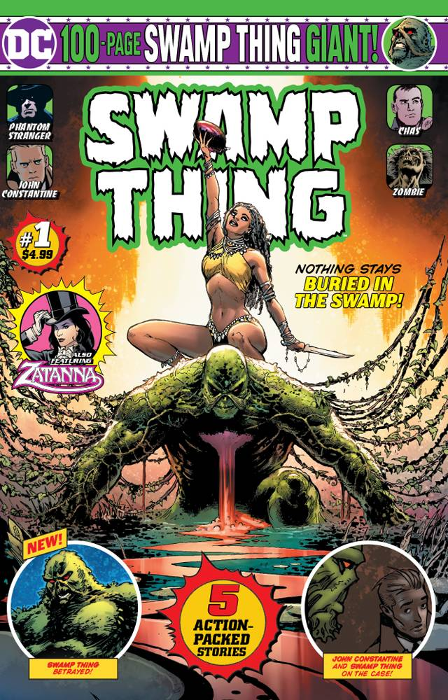 Swamp Thing 100-Page Giant (Walmart) #1 (2019)