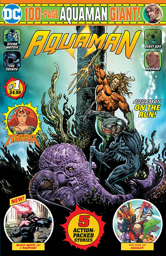 Aquaman 100 Page Giant #1 (2019)