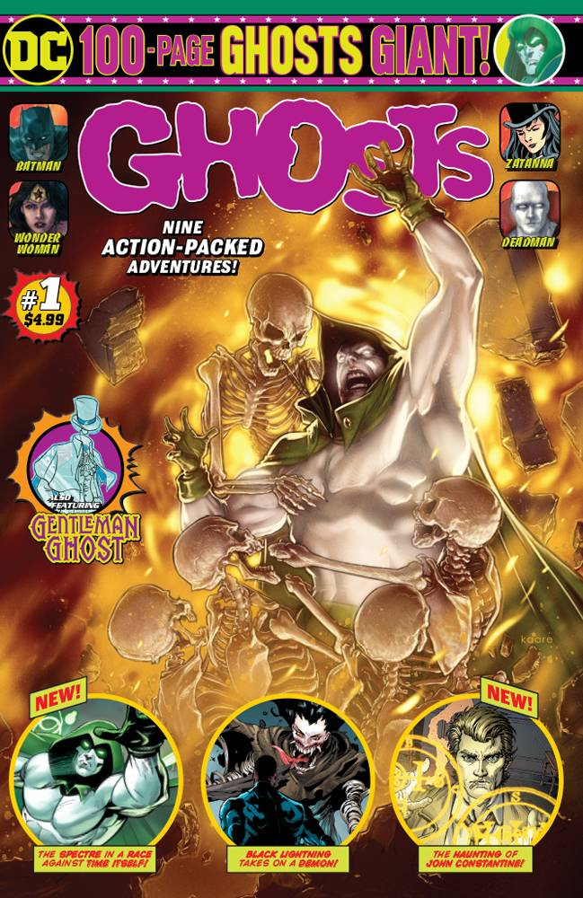DC Ghosts 100 Page Giant #1 (2019)