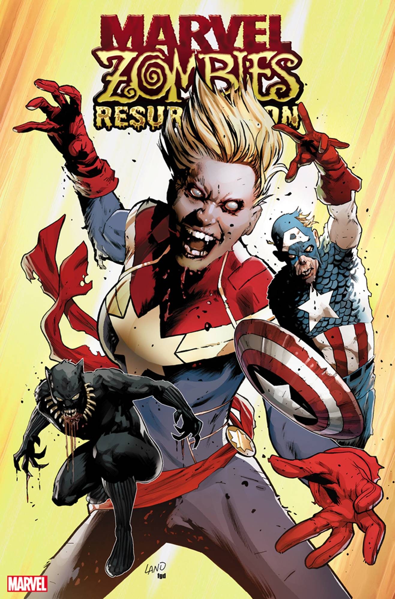 Marvel Zombies: Resurrection #1 (2019)