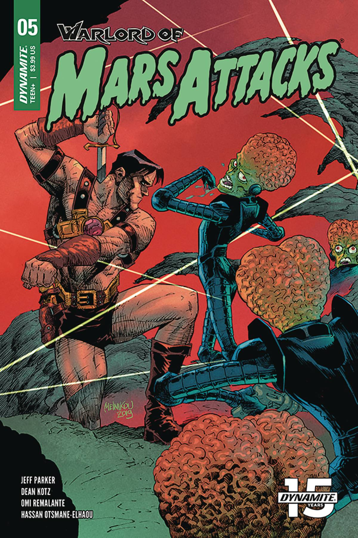 Warlord Of Mars Attacks #5 (2019)