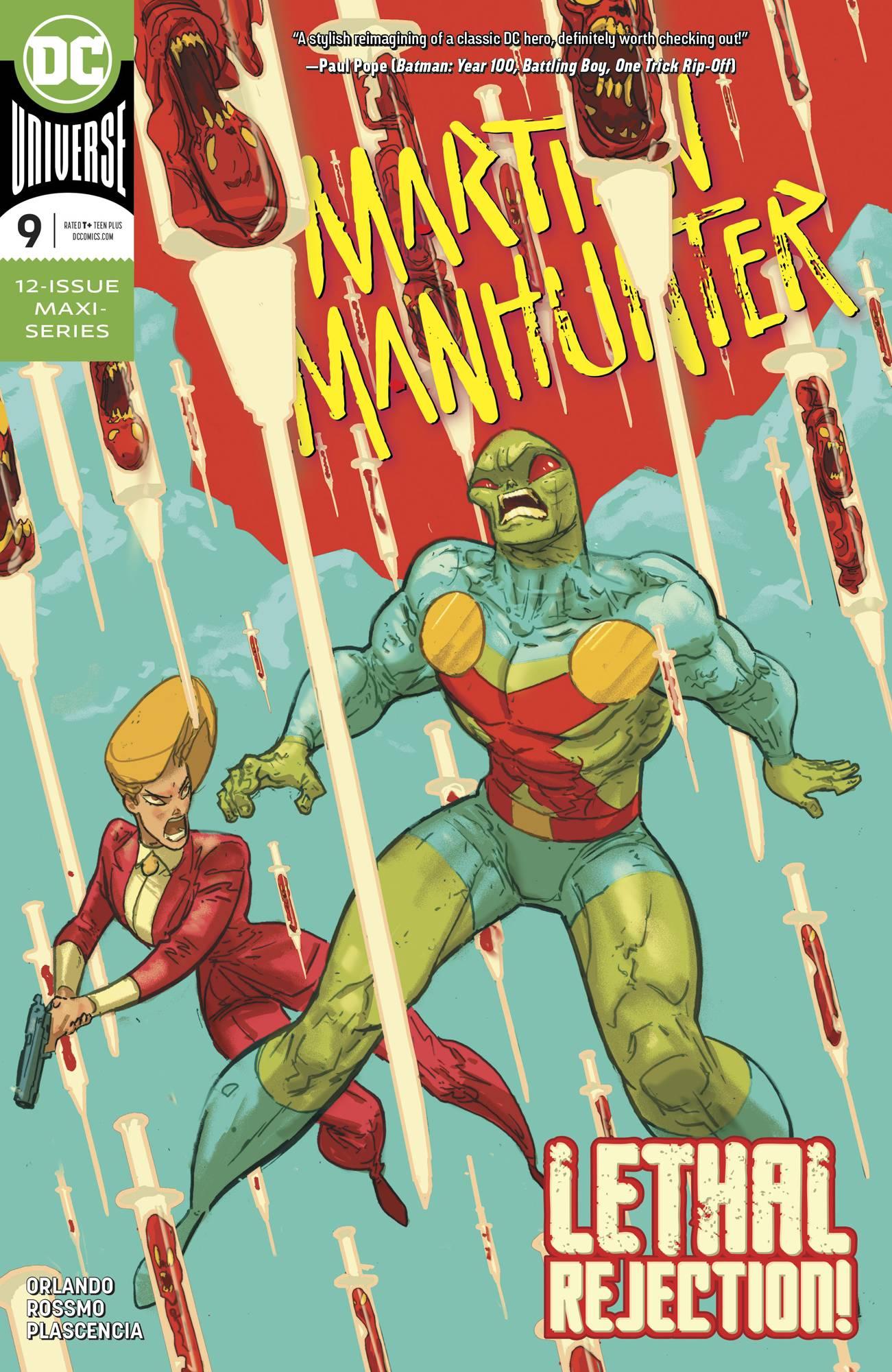 Martian Manhunter #9 (2019)