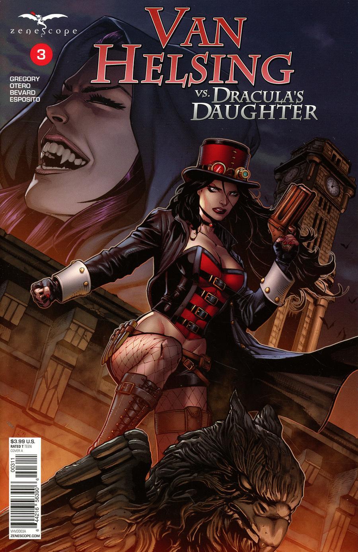 Van Helsing Vs Draculas Daughter #3 (2019)