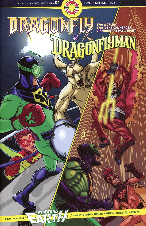 Dragonfly & Dragonflyman #1 (2019)