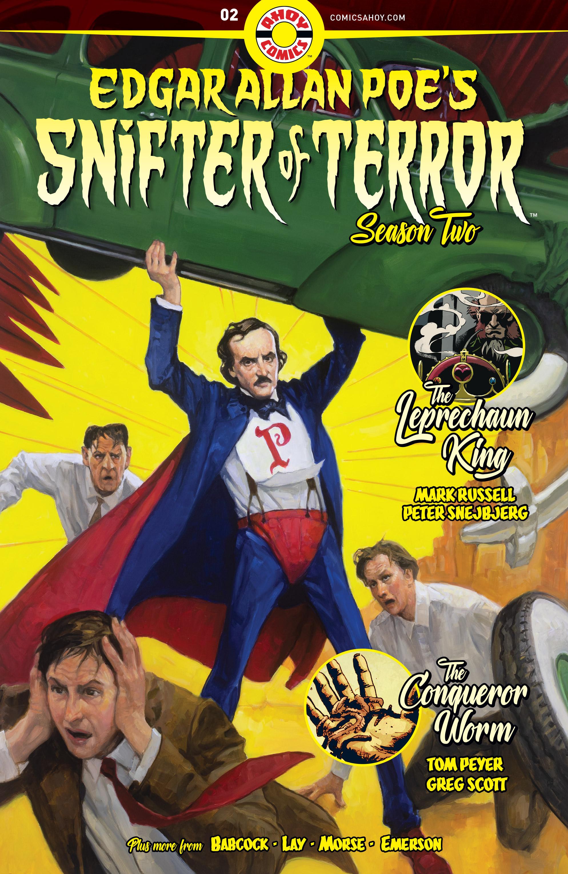 Edgar Allan Poe's Snifter Of Terror (Season 2) #2 (2019)