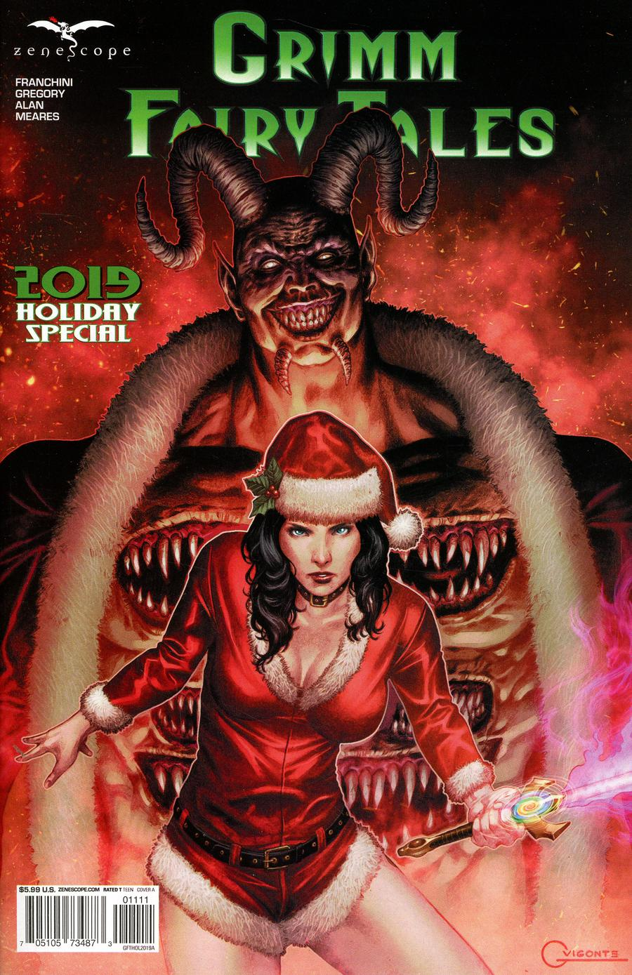Grimm Fairy Tales 2019 Holiday Special #1 (2019)