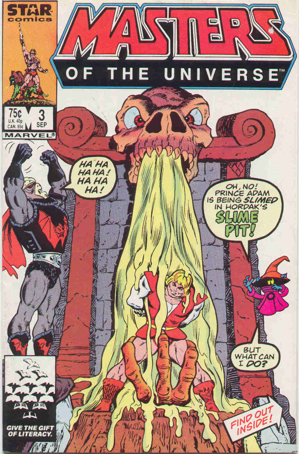 Masters of the Universe #3 (1986)